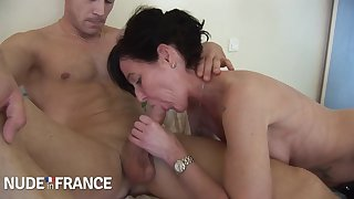 Joyce Mifle - Candice Marchal - A Hot Model Fucks Male