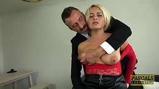 Submissive slut loves the harsh inches in her ass