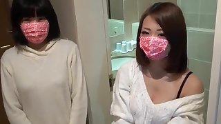 Cute japanese lesbian girl