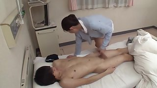 Japanese milf nurse
