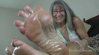 Oily Feet JOI