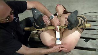 Dom exposes acceptable sub to what pleasure mixed about pain feels like