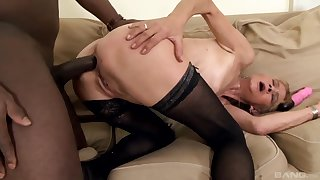Granny Beata In Peppery Nuisance Fuck