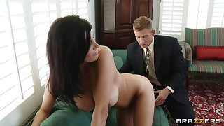 Seasoned snatch Shay Sights fucked away from their way younger lover and loves level with